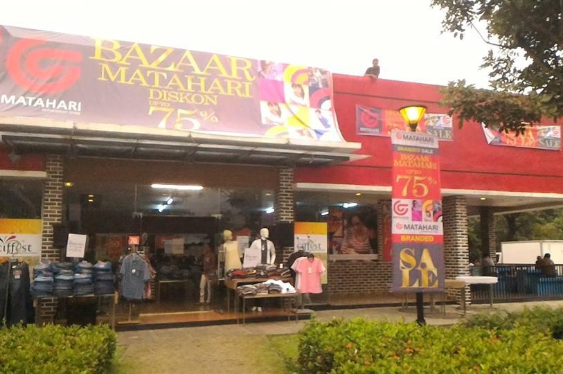 Matahari Department Store Buka Bazar di CitraRaya
