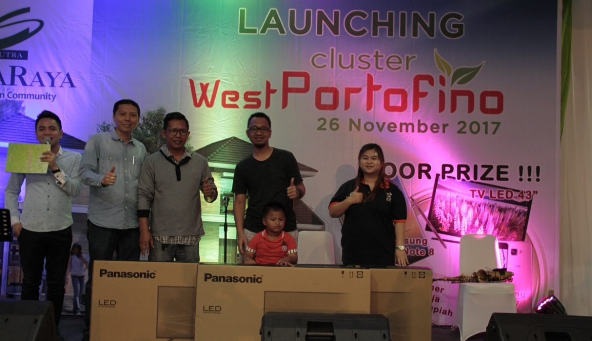 Banjir Hadiah Dan Reward Warnai Launching West Portofino