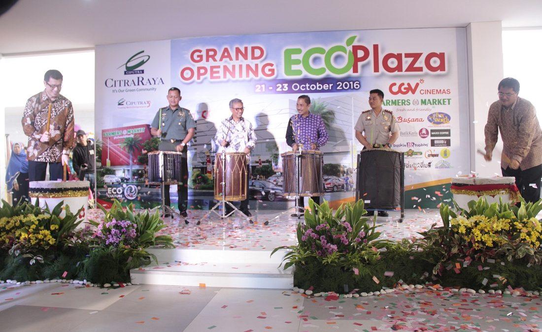 CitraRaya Resmi buka EcoPlaza, Pusat LifeStyle Terbaru Di EcoPolis