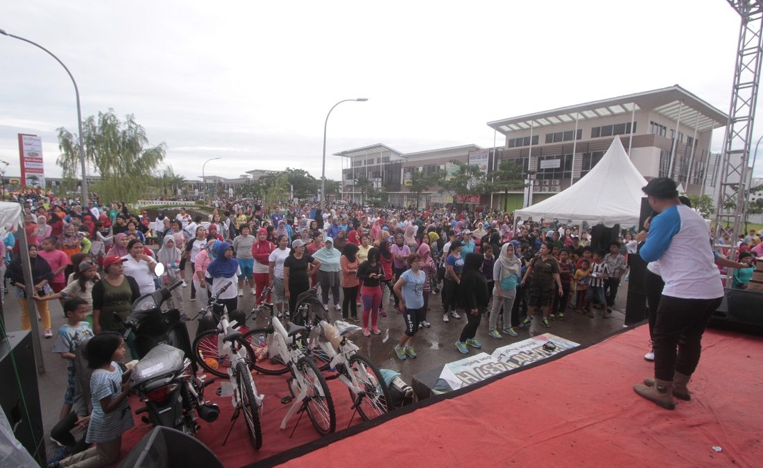 Ribuan Peserta Ramaikan Puncak 22nd EcoCelebration CitraRaya Tangerang