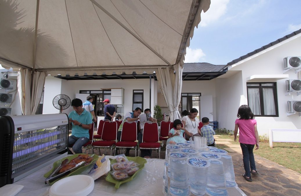 Open House Ala Pesta Kebun Di Villaggio