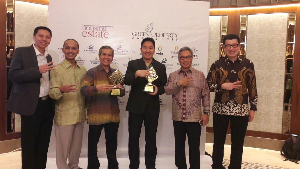 CitraRaya Raih Green Property Award Untuk Kedua Kalinya