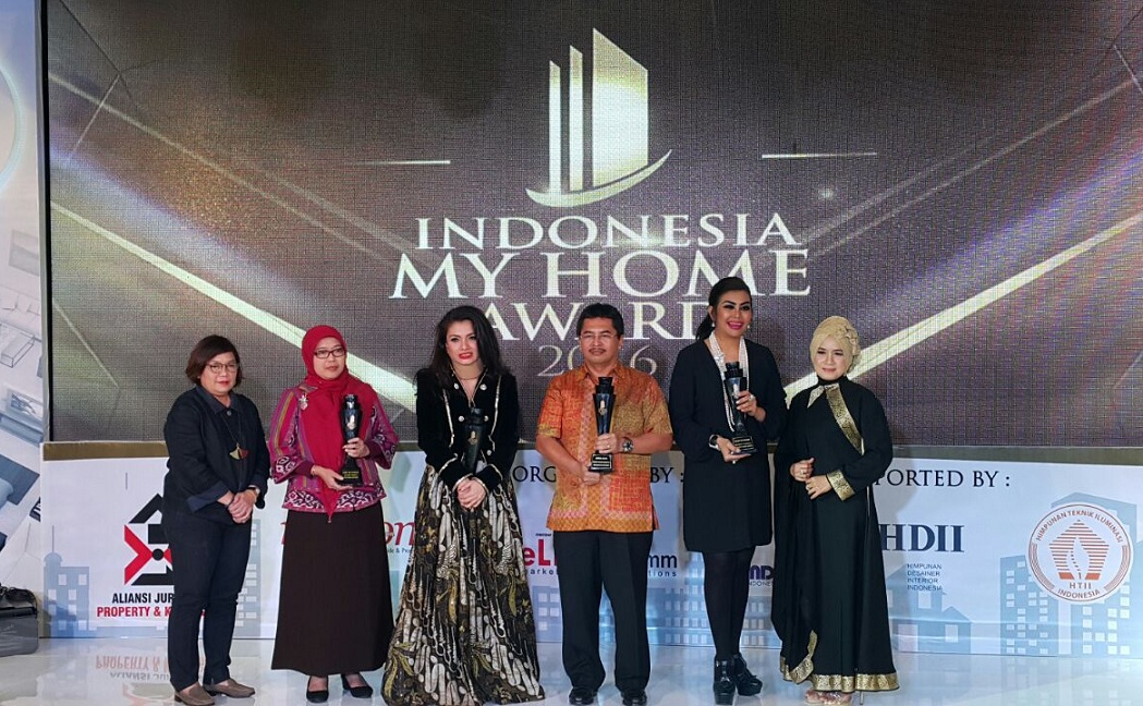 CitraRaya Raih Penghargaan Indonesia MyHome Awards 2016