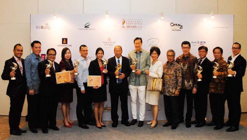 Ciputra Group Borong 10 Penghargaan Properti Indonesia Award 2016