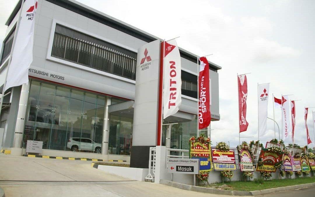 Authorized Dealer Mitsubishi Resmi Buka di CitraRaya Tangerang
