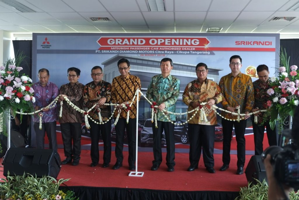 Grand Opening Dealer Mitsubishi CitraRaya
