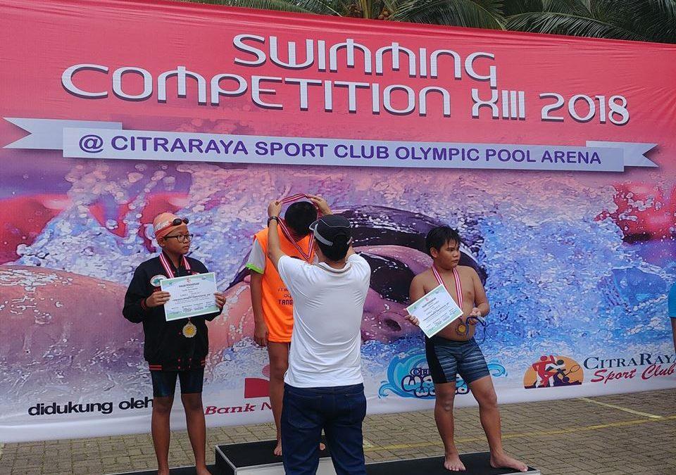 Ratusan Peserta Turut Andil Dalam CitraRaya Swiming Competition XIV 2018