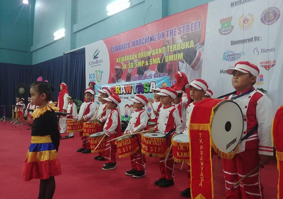 Peringati HUT Water World, CitraRaya Gelar Kompetisi Marching Band Antar Sekolah dan Umum