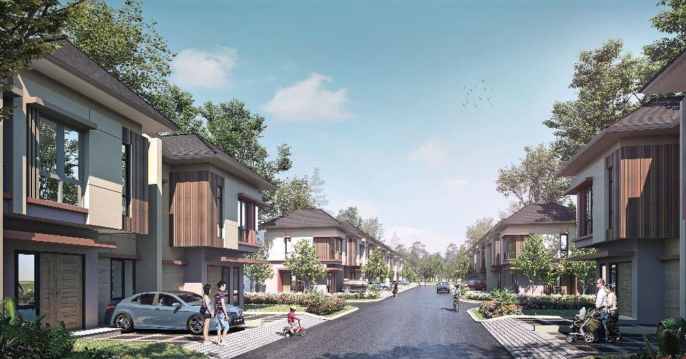 Pine Tree, Cluster Terbaru di Kawasan Ecopolis CitraRaya Tangerang