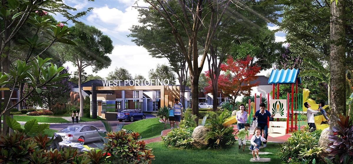 Beli rumah di cluster West Portofino CitraRaya Tangerang