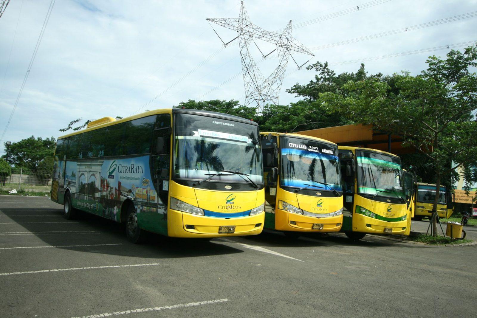 Rute, dan Jadwal Bus Trans CitraRaya Tangerang -