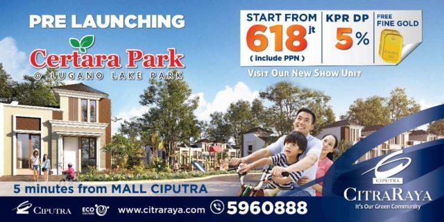promo Certara Park