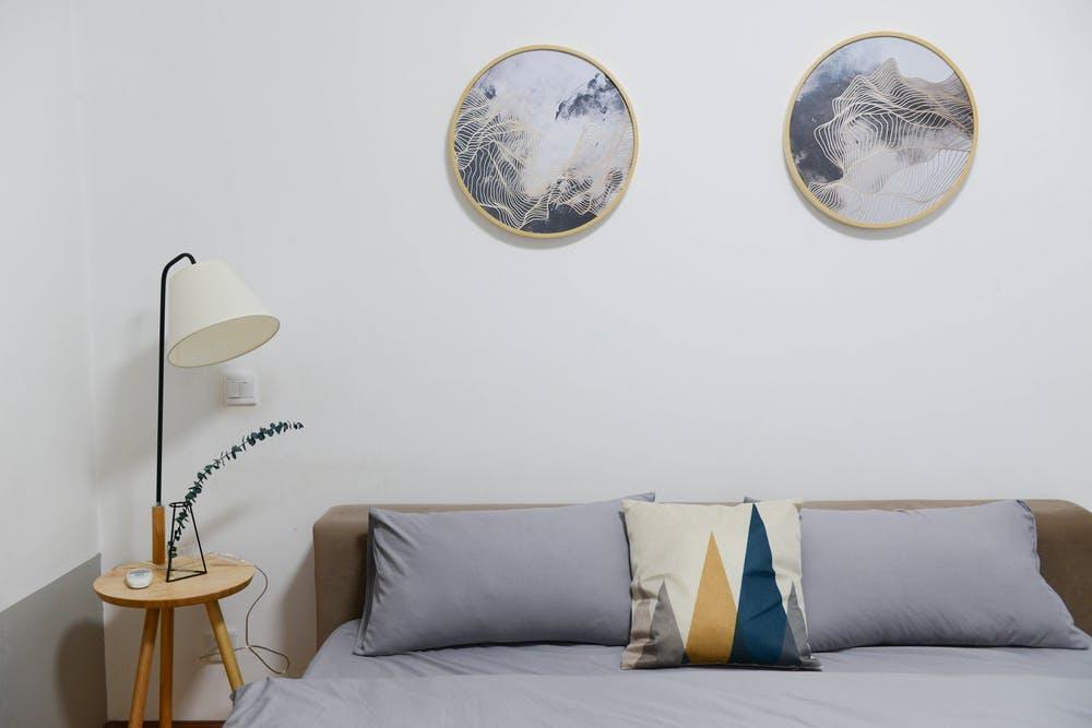 interior rumah minimalis, kamar tidur