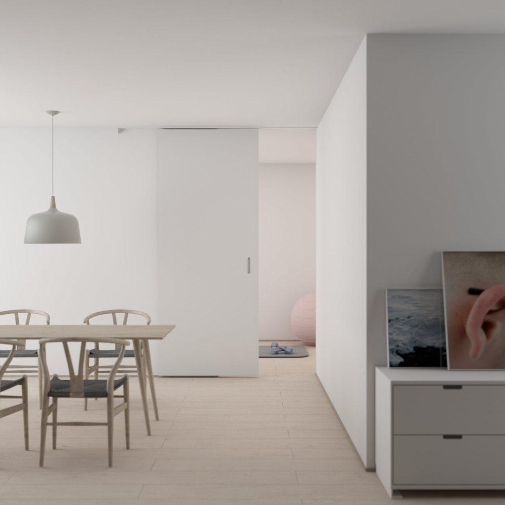 interior rumah minimalis, ruang makan